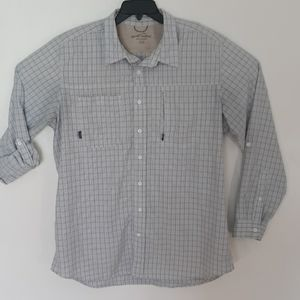 Eddie Bauer XL Travex Gray Shirt